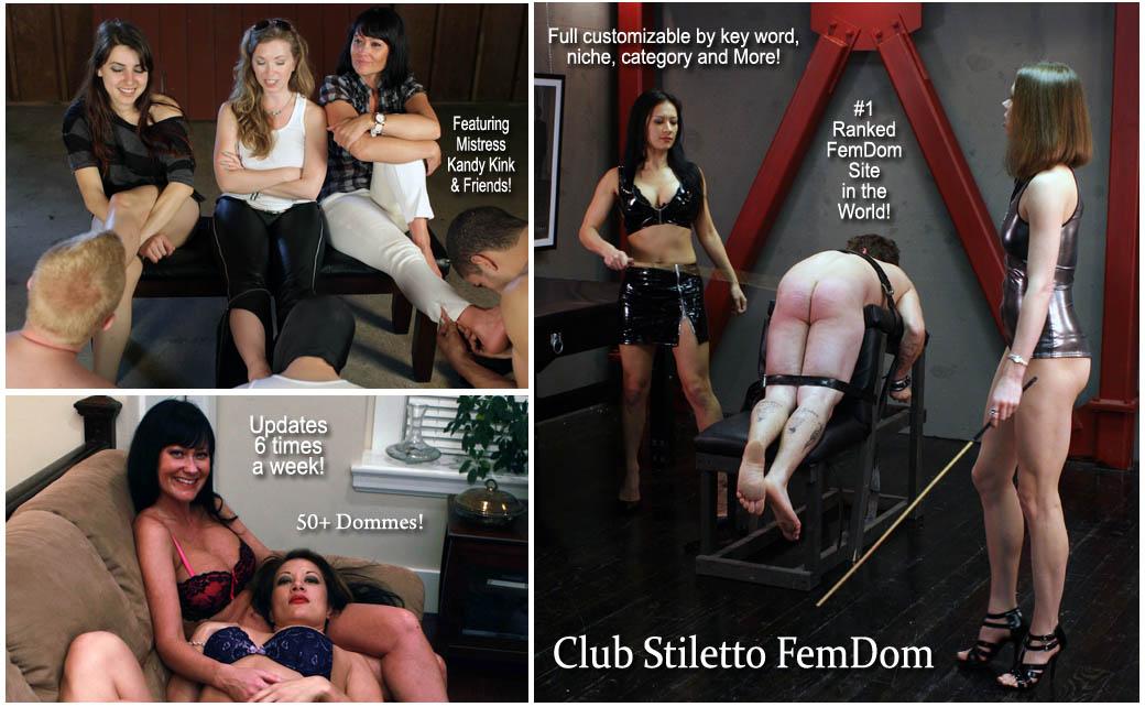 Club stiletto femdom